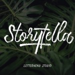 Storytella Brush Font Free