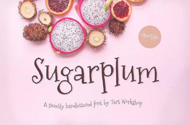 Sugarplum Font Free
