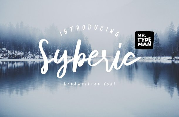 Syberic Script Font Free