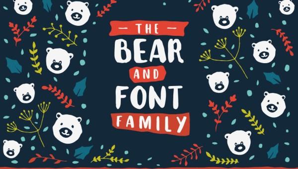The Bear Font Family Free