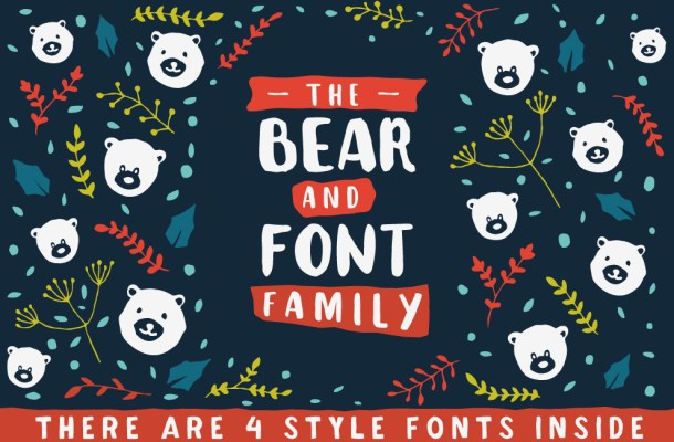 The Bear Font Family Free