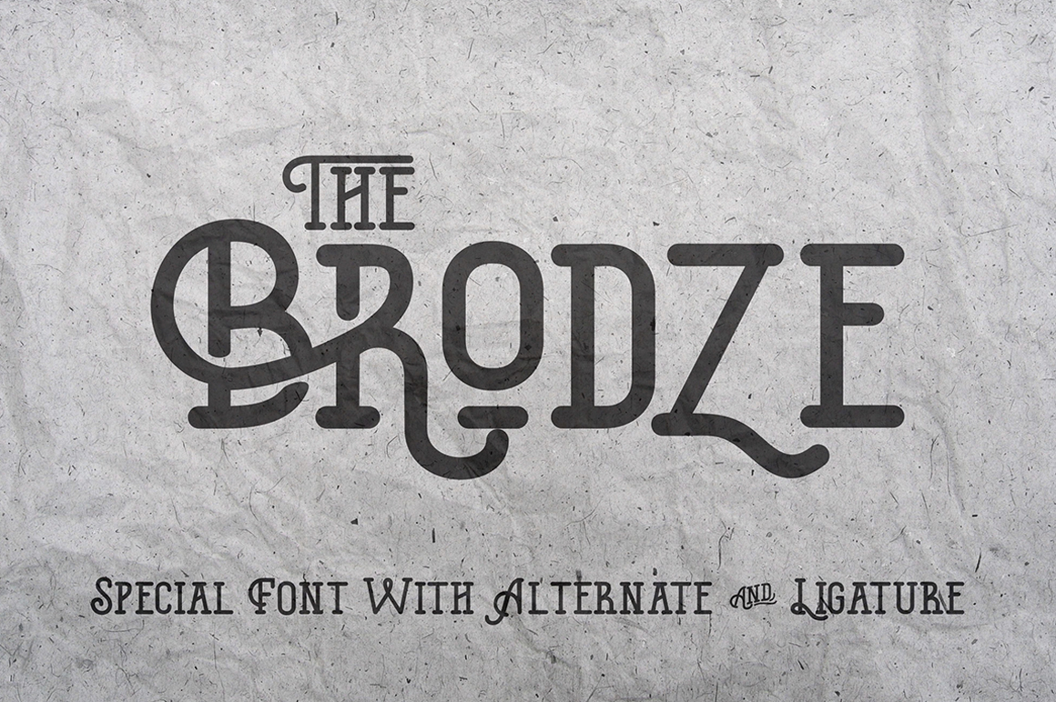 the-brodze-typeface
