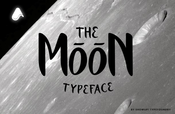 The Moon Typeface Free