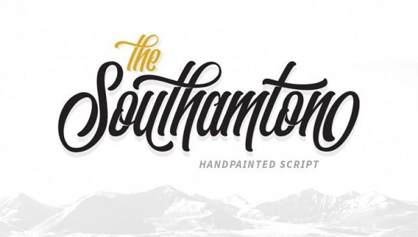The Southamton Typeface Free