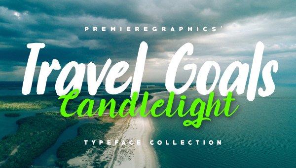 Travel Goals Script Font Free