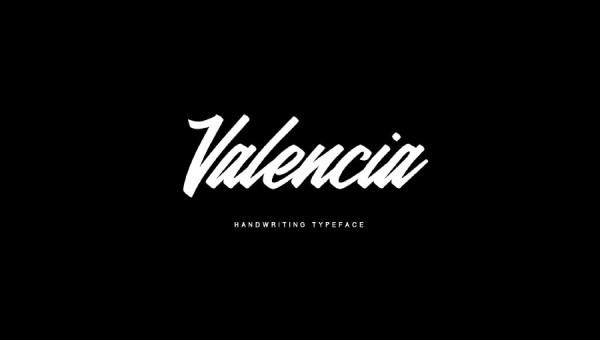 Valencia Calligraphy Font Free