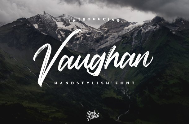 Vaughan Handstylish Font Free