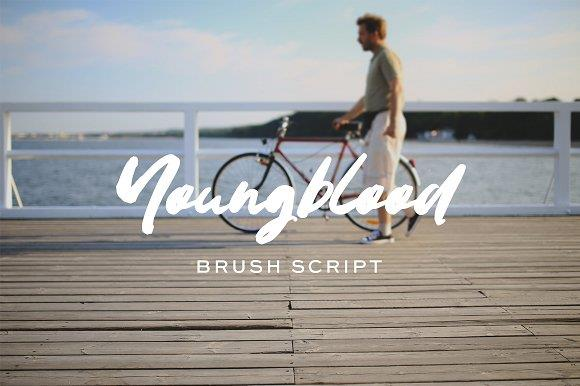 youngblood-brush-font