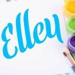 Elley Font Free