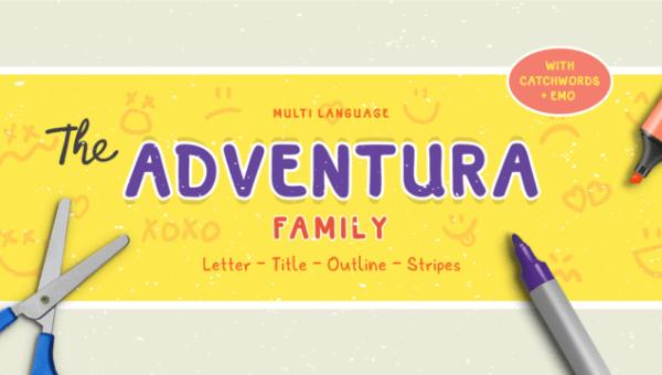 Adventura Font Family Free