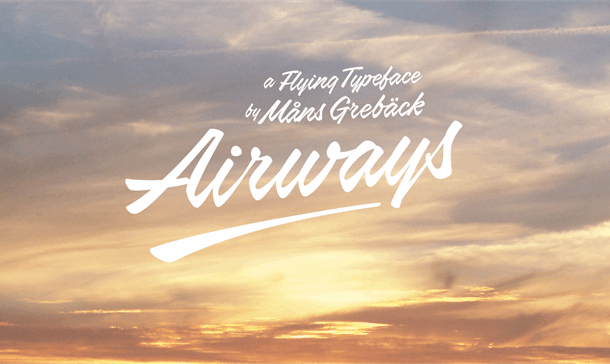 Airways Font Free