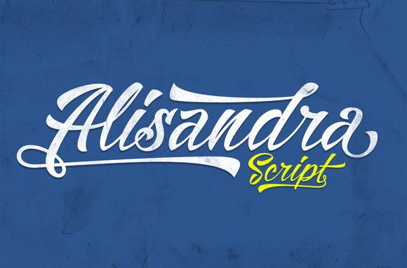 alisandra-script-font