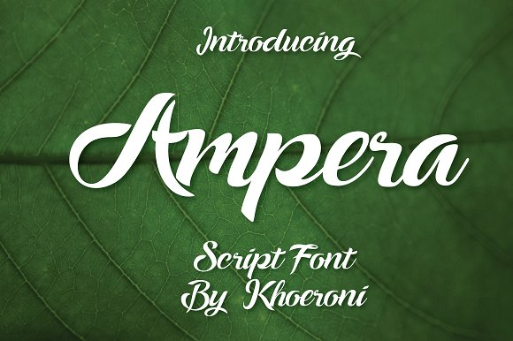 ampera-font