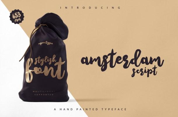 Amsterdam Script Font Free