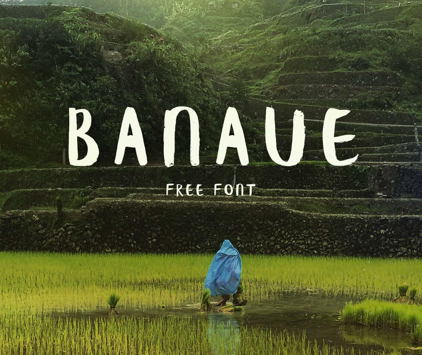 banaue-brush-font