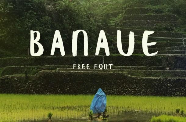 Banaue Brush Font Free