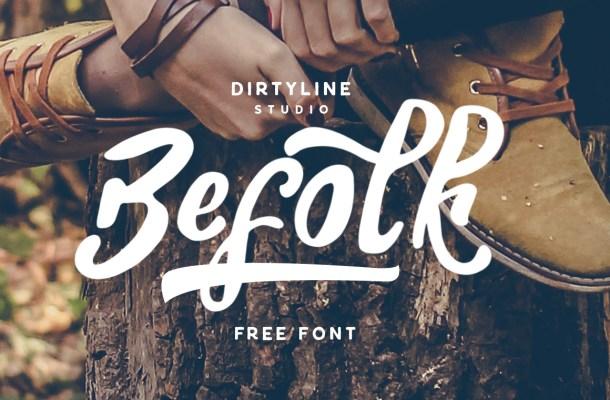 Befolk Font Free