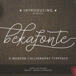 Bekafonte Typeface Free