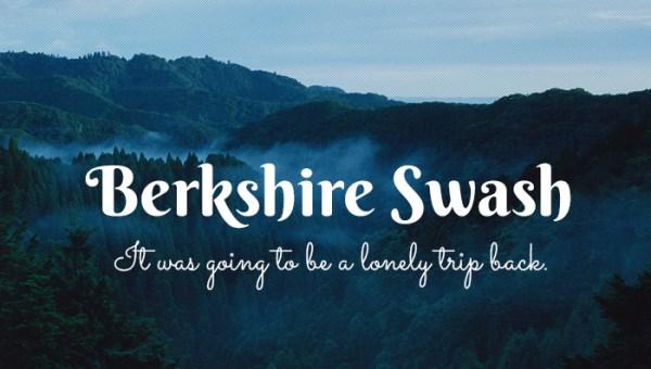 Berkshire Swash Font Free