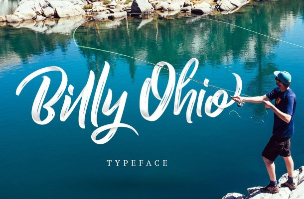 Billy Ohio Brush Font Free