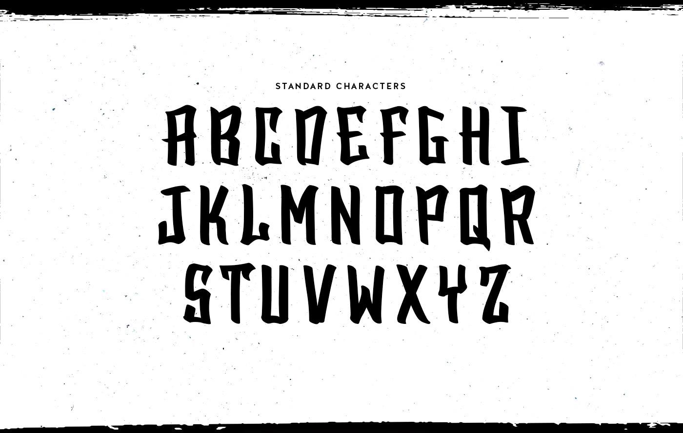 blacktop-font