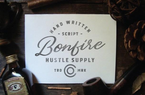 Bonfire Script Font Free