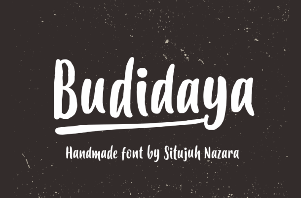 Budidaya Font Free