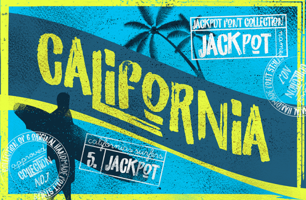 California Brush Font Free