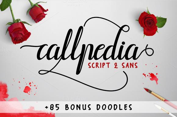 Callpedia Script Font Free