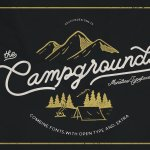Campground Font Free