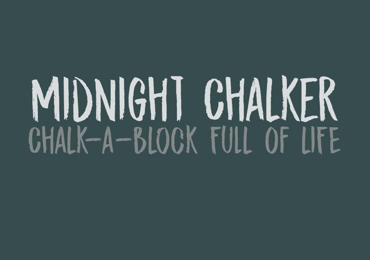 dk-midnight-chalker-font