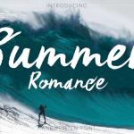 Summer Romance Font Free