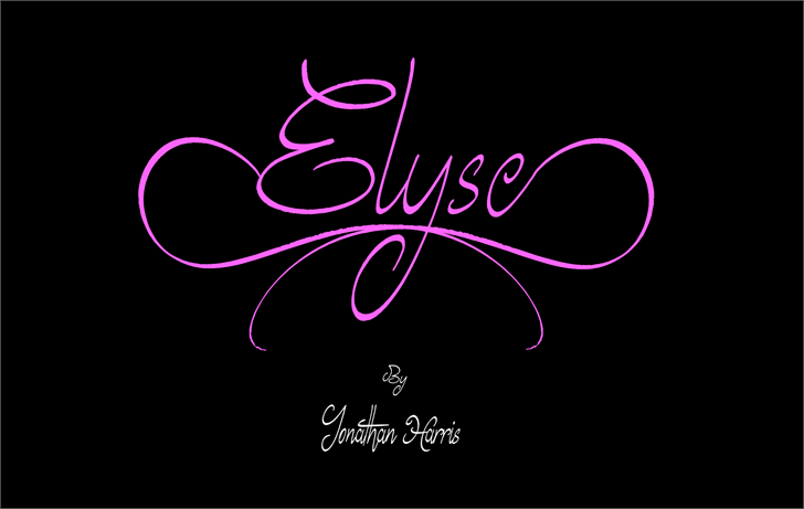 elyse-font