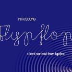 Flypflop Font Free