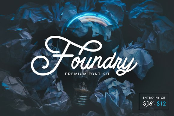 Foundry Kit Font Free - Dafont Free