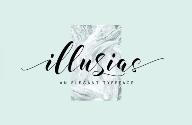 illusias Font Free