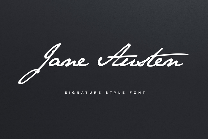 jane-austen-signature-font