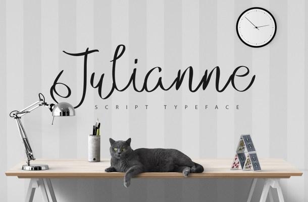 Julianne Script Typeface Free