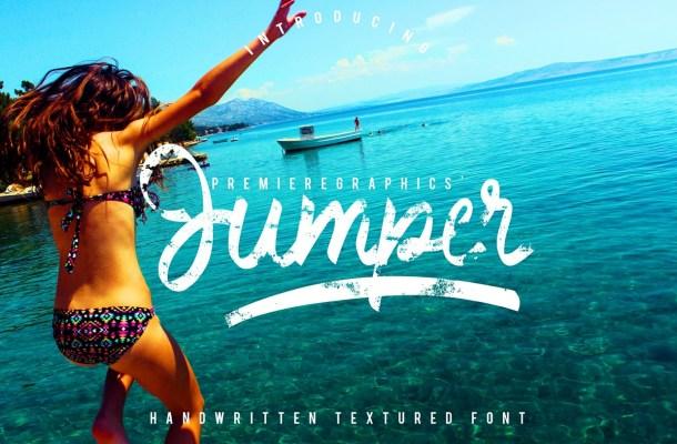 Jumper Handwritten Font Free