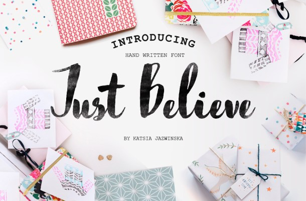 Just Believe Font Free