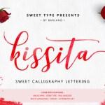 Kissita Script Font Free