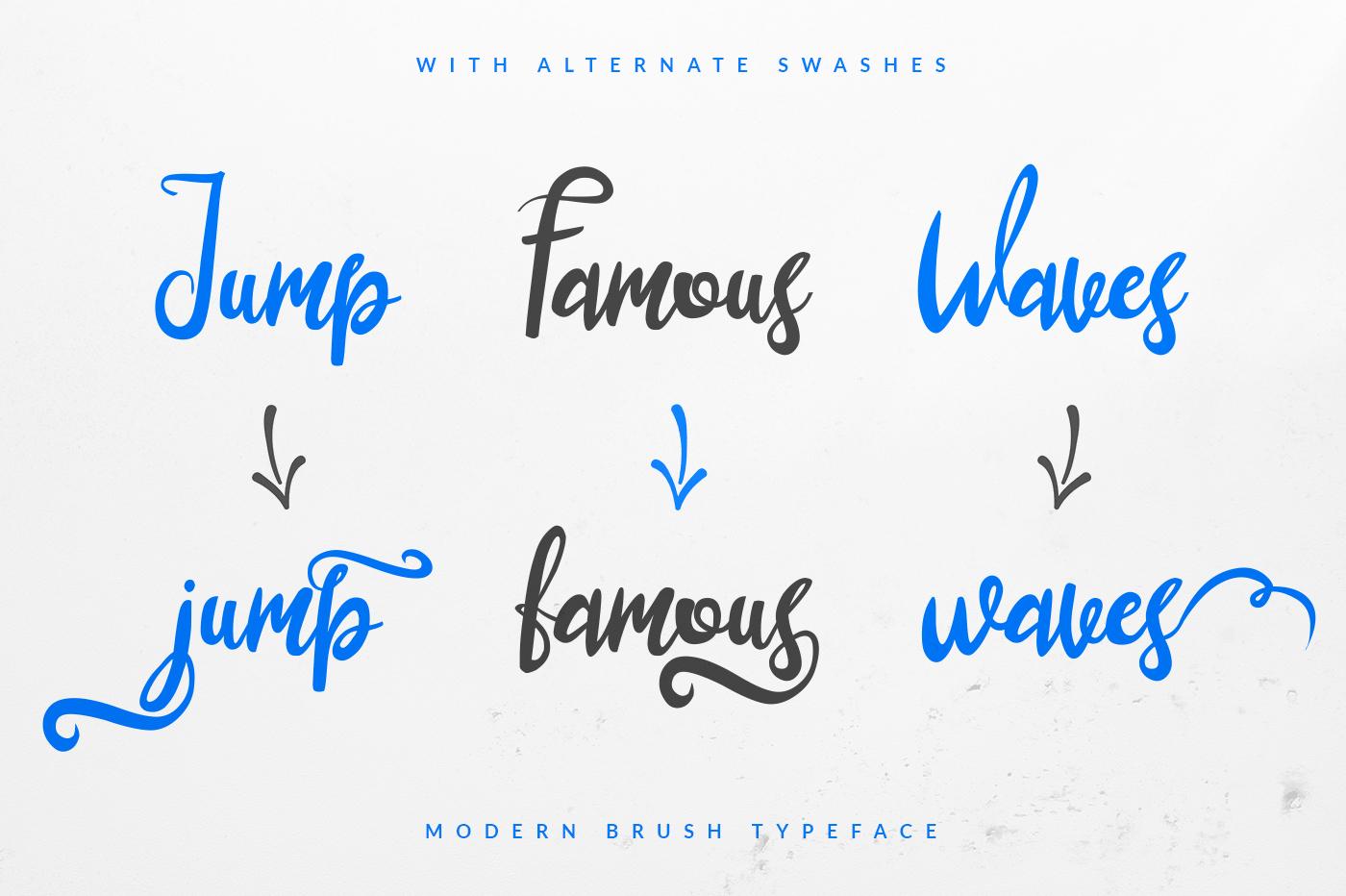 lustinmal-script-font