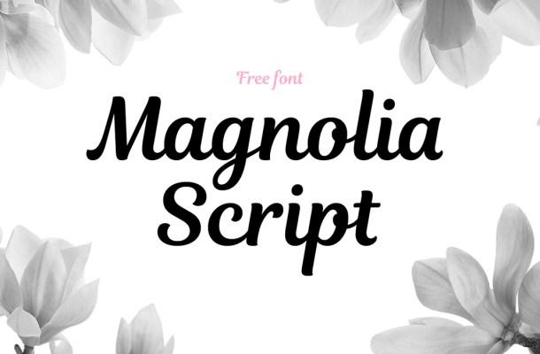 Magnolia Script Font Free