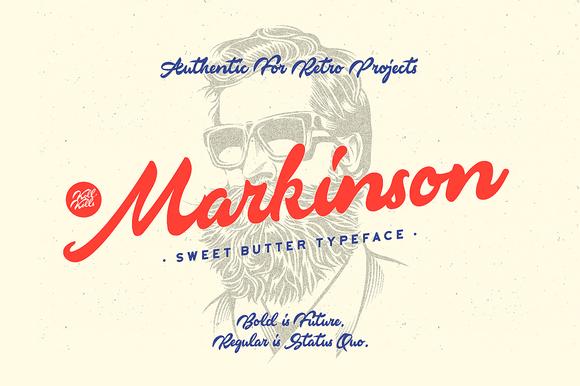 markinson-script-font