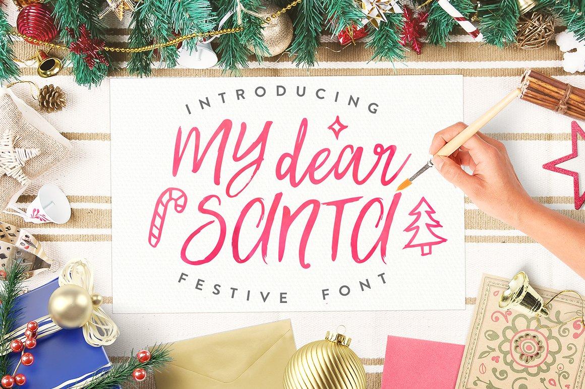 my-dear-santa-magical-font-bonus