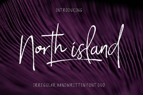 North Island Font Free