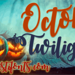 October Twilight Font Free
