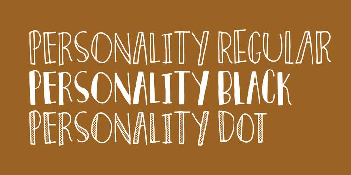 personality-font-4