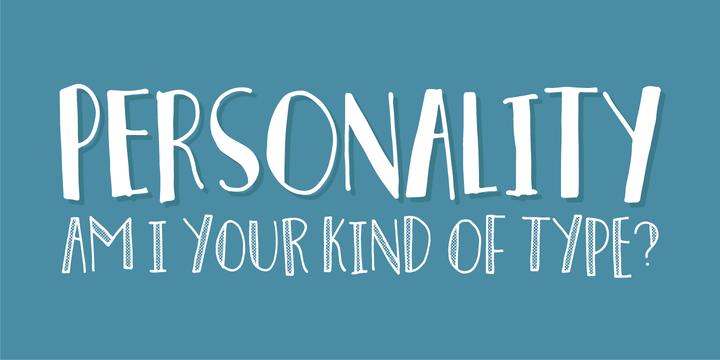 personality-font