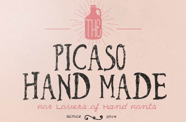 Picaso Hand Made Font Free